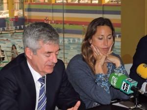 Gemma Mengual y Fernando Carpena en El Perú Cáceres Wellness